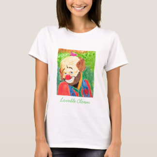 Woman's Lovable Clown Shirt
