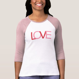 Woman's Love Sweater Tee Shirt