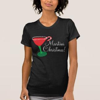 Womans Martini Christmas Shirt