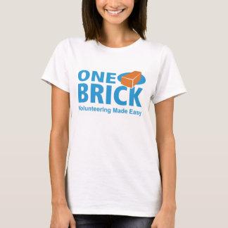 Woman's One Brick Logo Tee