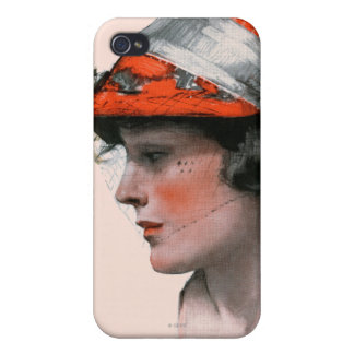 Woman's Profile iPhone 4/4S Case