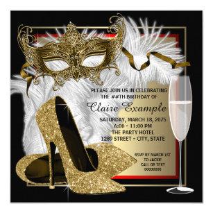 masquerade party invitations zazzle