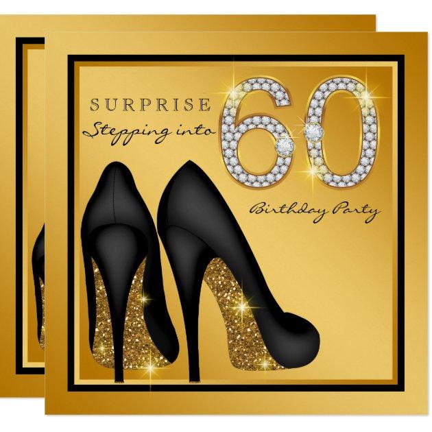 60th Birthday Party Invitation Examples - Wedding Invitation Sample
