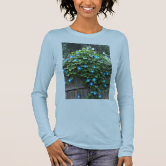 Woman's T-Shirt/Morning Glory Long Sleeve T-Shirt