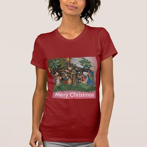 Woman's T-Shrit/Christmas/Nativity T Shirts