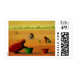 Woman's Work 2001 Postage Stamp