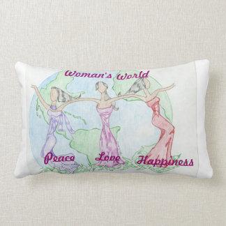 Woman's world Pillow