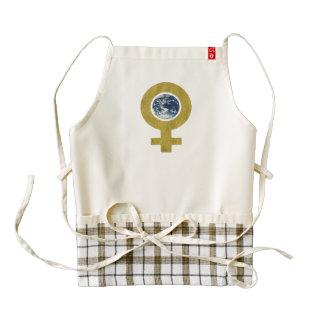 womans world zazzle HEART apron