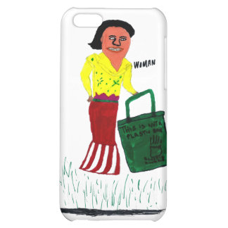 WomanWithBag iPhone 5C Cases