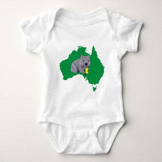Wombat Baby Bodysuit