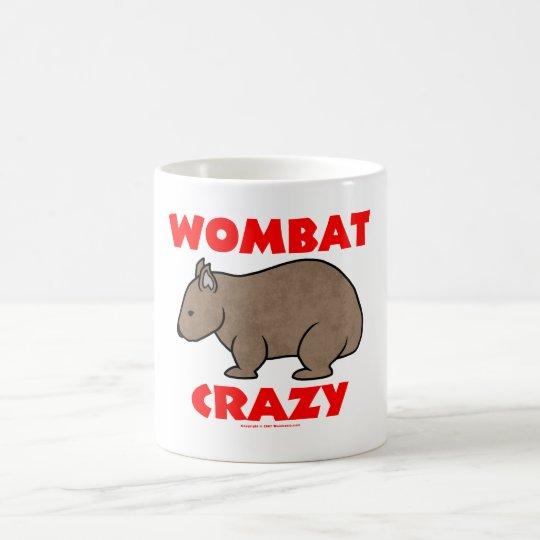 Wombat Crazy Coffee Mug