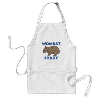 Wombat Crazy II Adult Apron