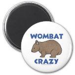 Wombat Crazy II Magnets