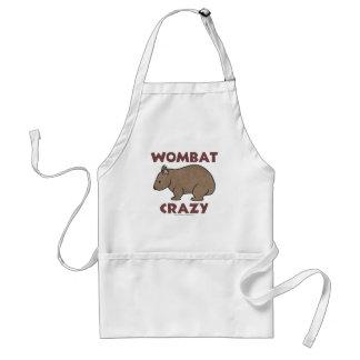 Wombat Crazy III Adult Apron