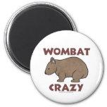 Wombat Crazy III Fridge Magnets