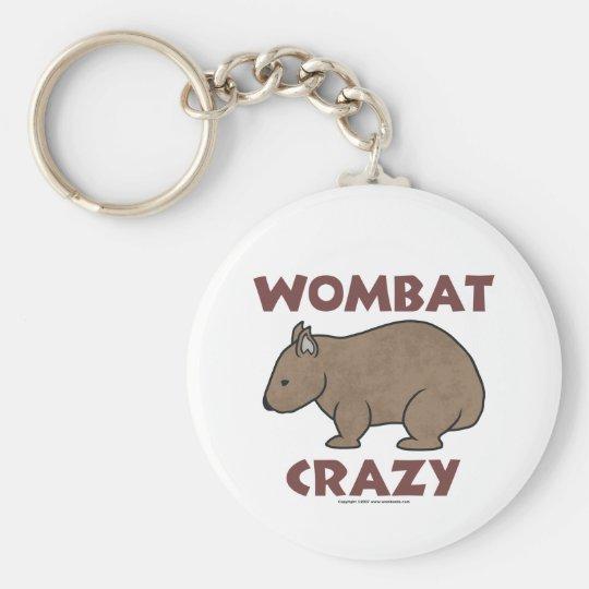 Wombat Crazy III Keychain