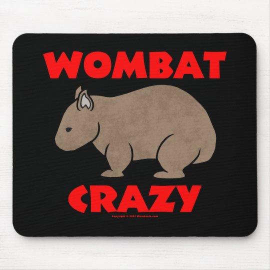 Wombat Crazy Mouse Pad