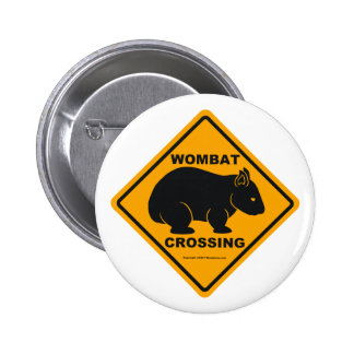 Wombat Crossing Sign Button