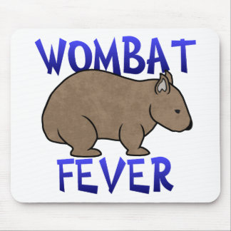 Wombat Fever II Mouse Pad