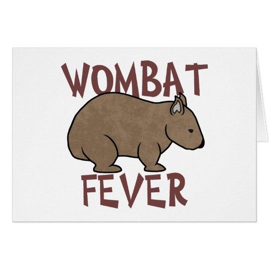 Wombat Fever III Card