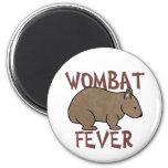 Wombat Fever III Magnets