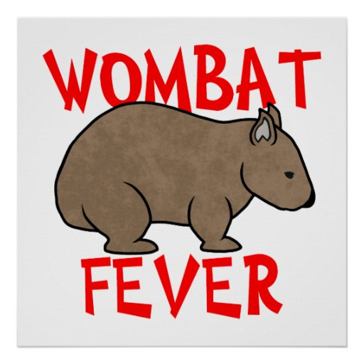 Wombat Fever Poster