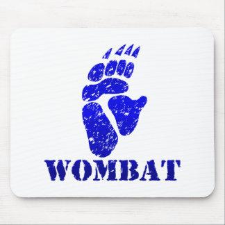Wombat Footprint III Mouse Pad