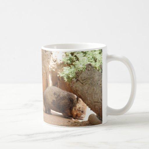 Wombat Heaven Classic White Coffee Mug
