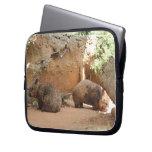 Wombat Heaven Laptop Sleeves