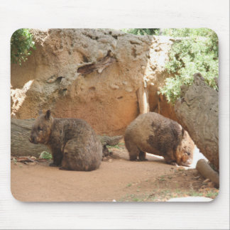 Wombat Heaven Mouse Pad
