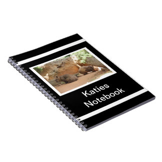 Wombat Heaven Spiral Notebook