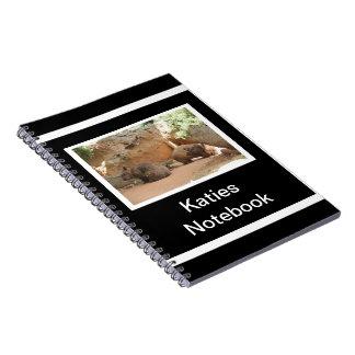 Wombat Heaven Spiral Notebook