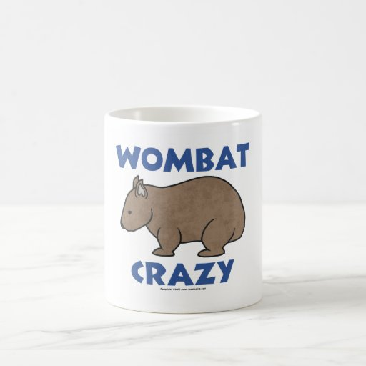 Wombat II loco Tazas De Café