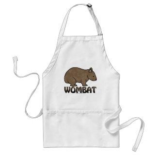 Wombat Logo II Adult Apron
