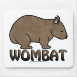 Wombat Logo II Mouse Pad