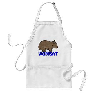 Wombat Logo III Adult Apron