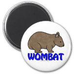 Wombat Logo III Magnets