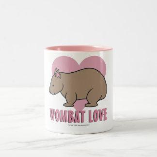 Wombat Love II Two-Tone Coffee Mug