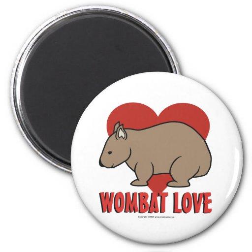Wombat Love Refrigerator Magnets