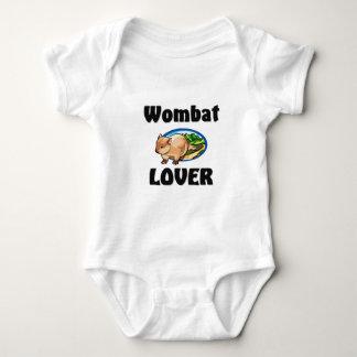 Wombat Lover Baby Bodysuit