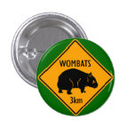 Wombat Sign Button