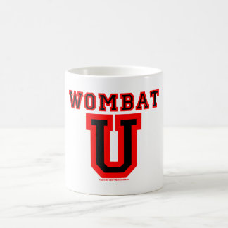 Wombat U IV Coffee Mug
