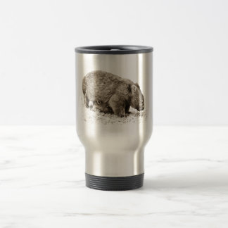 wombats 15 oz stainless steel travel mug