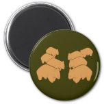 Wombats Refrigerator Magnets