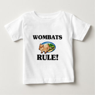 WOMBATS Rule! Baby T-Shirt