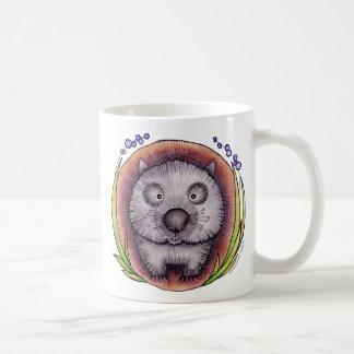 """""""Wombie"""" el mug^ del wombat Taza De Café"""
