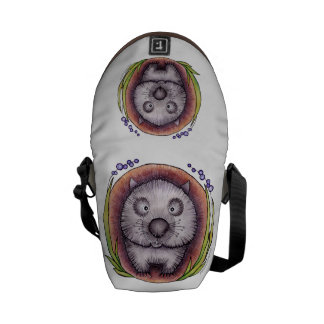 'Wombie' the wombat bag