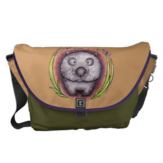 'Wombie' the wombat bag Courier Bags