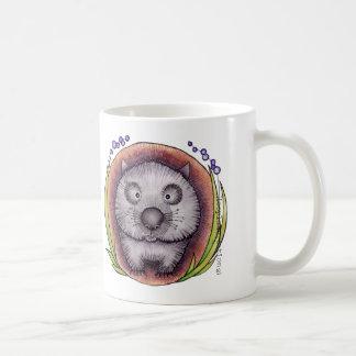 'Wombie' the wombat mug