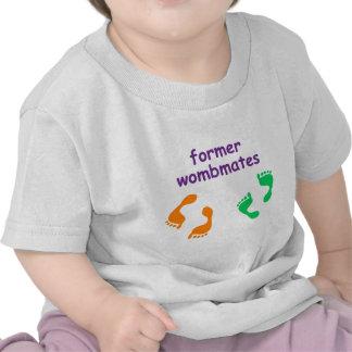 Wombmates anterior camisetas